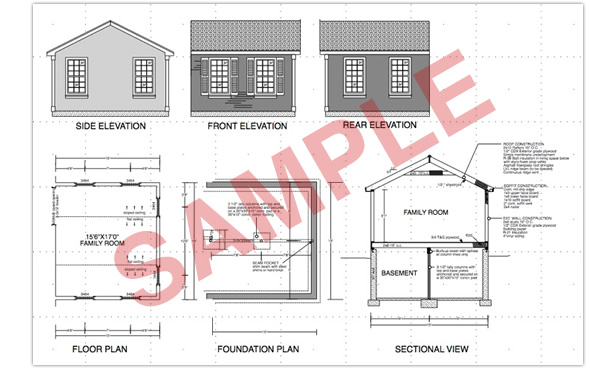sample house foundation plans - Sample House Plans