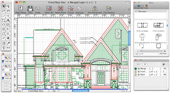 Macdraft Pro Features Powerful 2d Drafting Design