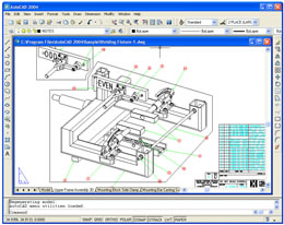 Pc draft powerful 2d cad drafting technical for Simple architectural drawing software