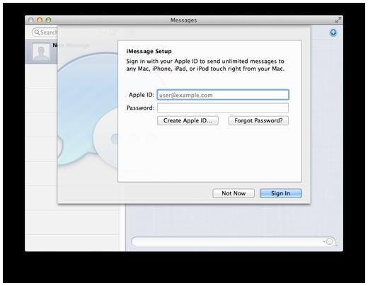 MacDraft Pro - Tutorials | How to setup Messages on Mac OSX