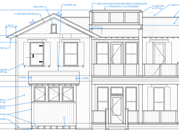 click to enlarge the image house front elevation - 2d House Elevation Designs In