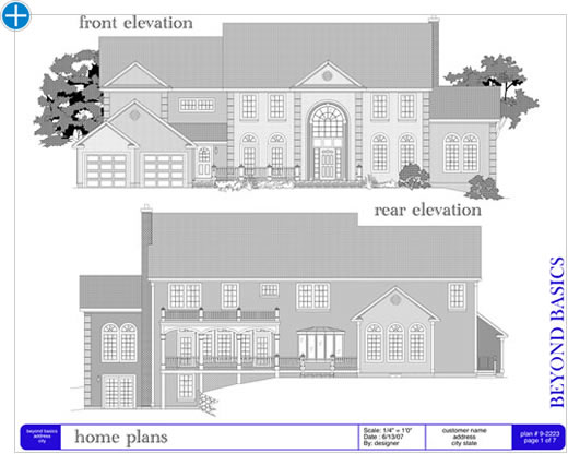 maki 2d plan elevation